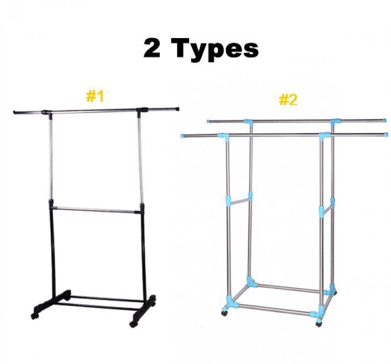 hot adjustable portable clothes hanger rolling garment. Black Bedroom Furniture Sets. Home Design Ideas